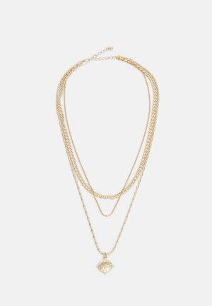 PCPRIMMO COMBI NECKLACE - Necklace - gold-coloured