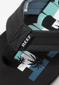 Reef - WATERS - Sandály s odděleným palcem - navy - 5