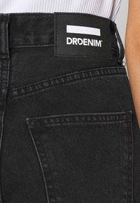 Dr.Denim - ECHO - Jeans a sigaretta - concrete black ripped - 5