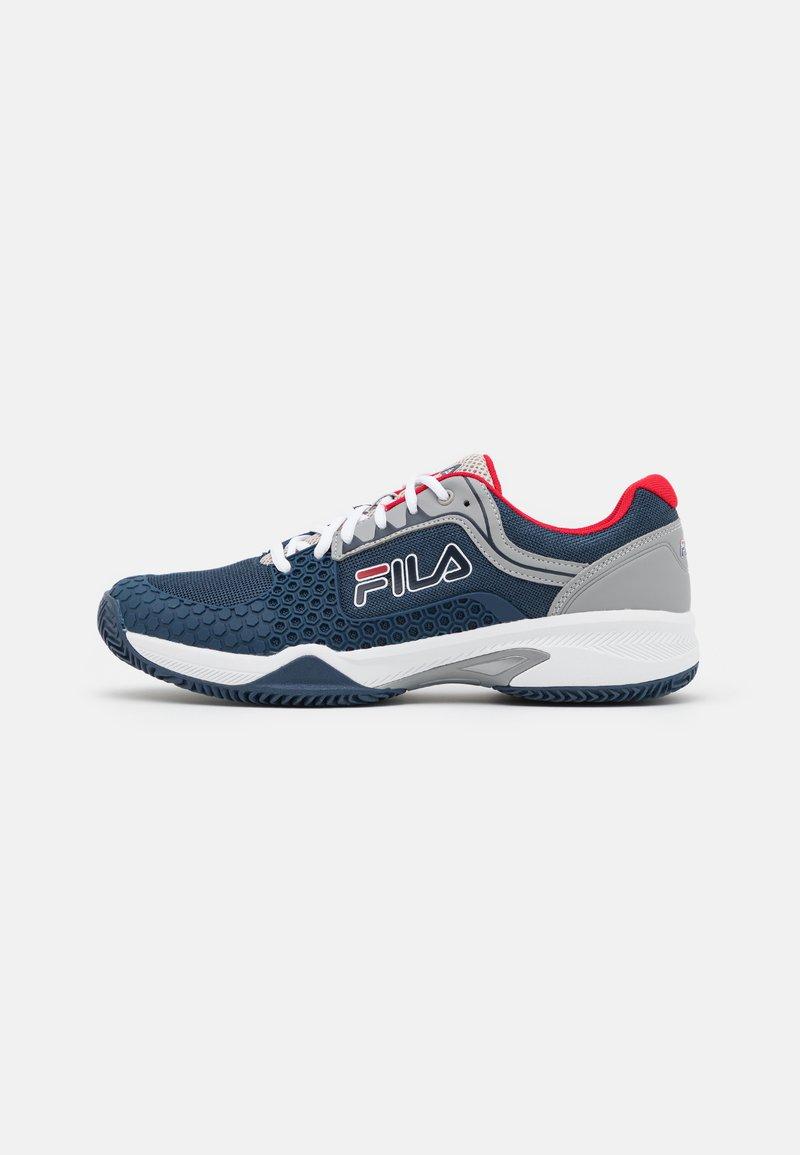 Fila - Tenisové boty na všechny povrchy - peacoat blue