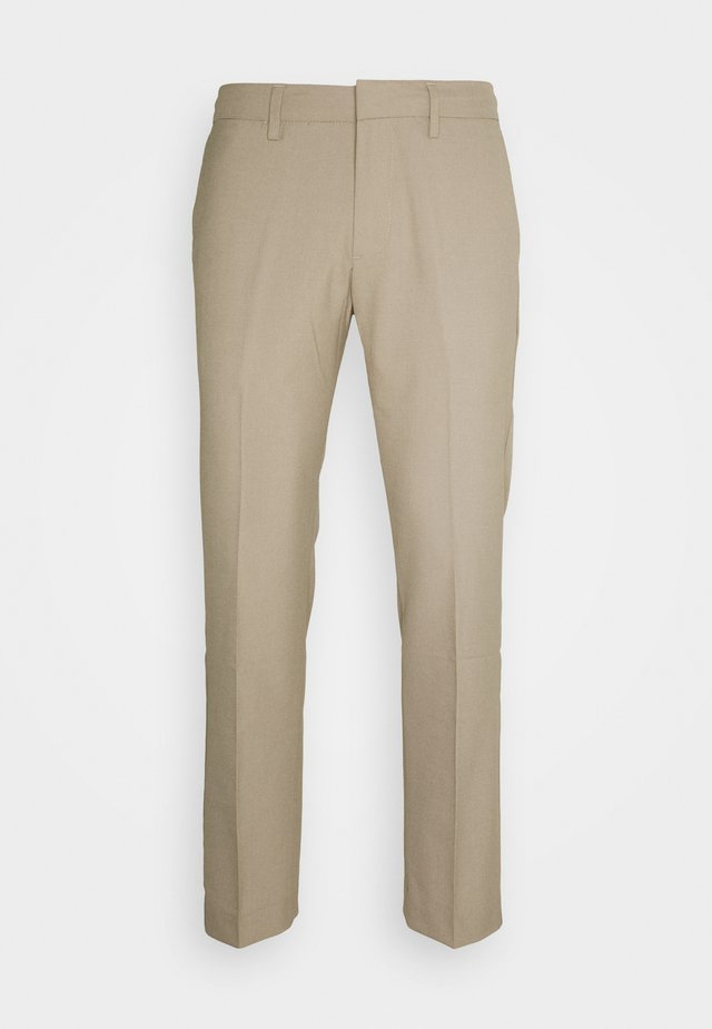 SMART FLEX TROUSER SLIM - Chinos - timber wolf