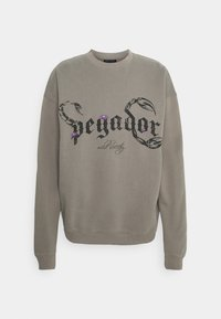 Pegador - DEADWOOD OVERSIZED - Mikina - washed frost gray - 0