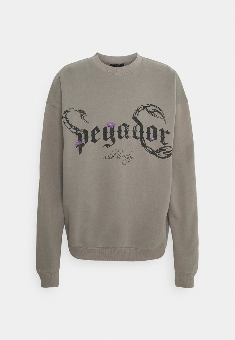Pegador - DEADWOOD OVERSIZED - Mikina - washed frost gray