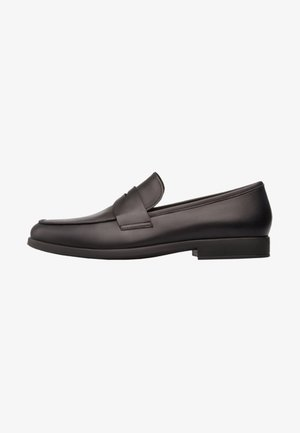 TRUMAN - Smart slip-ons - black