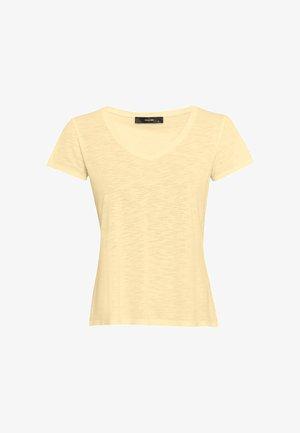 Basic T-shirt - vanille