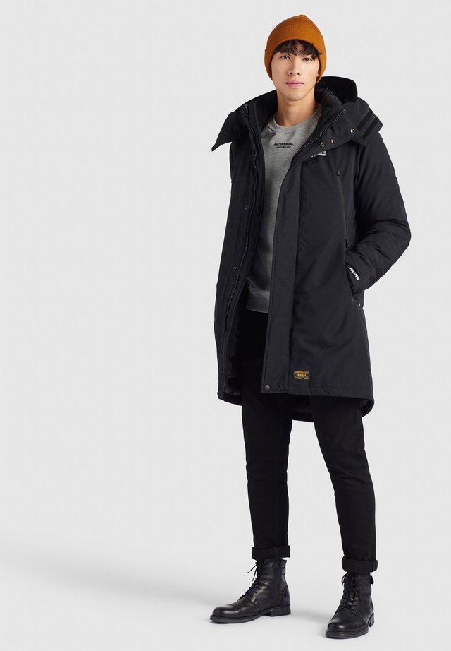 CAPTAIN - Winterjas - schwarz