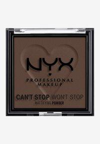Nyx Professional Makeup - CAN'T STOP WON'T STOP MATTIFYING POWDER - Powder - 10 rich - 1