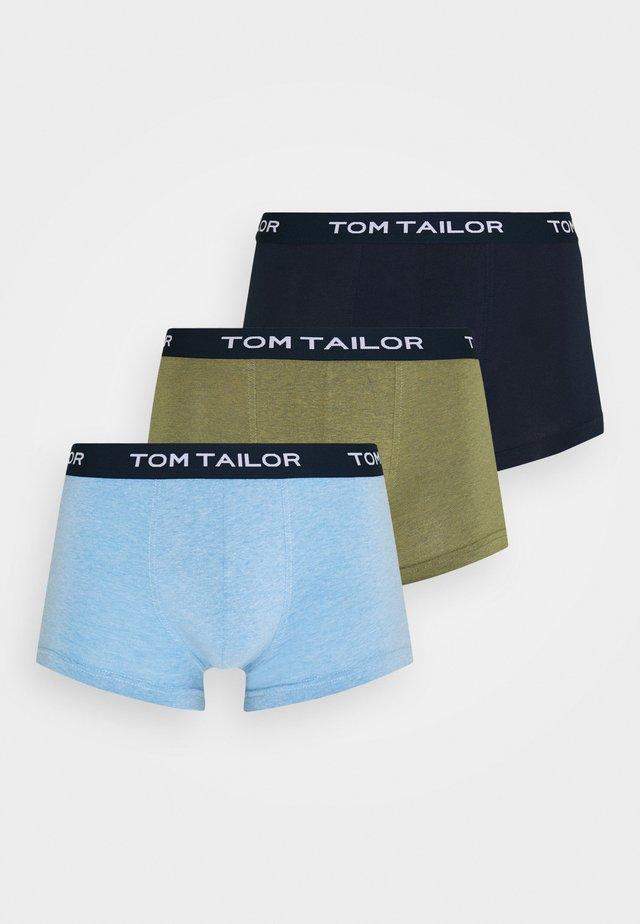PANTS 3 PACK - Underbukse - green/dark blue/light blue