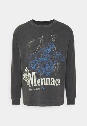 SKELETAL MULE - Longsleeve - dark grey