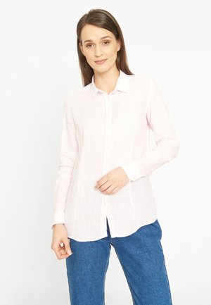 ANNE - Button-down blouse - light pink