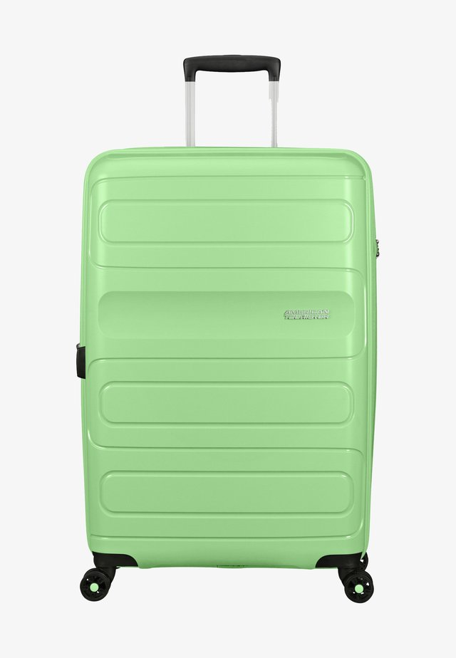 SUNSIDE - Wheeled suitcase - neo mint