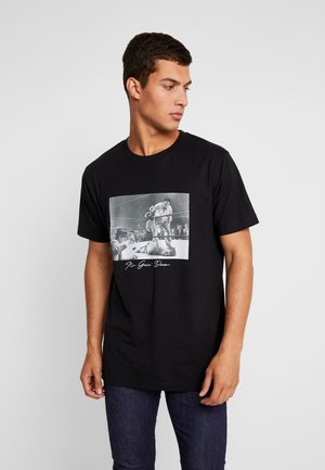 GOING DOWN TEE - T-shirt imprimé - black