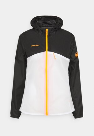 Outdoor jacket - black/white
