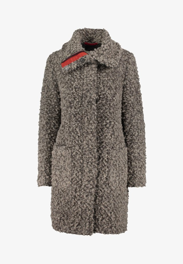 Winter coat - braun melange