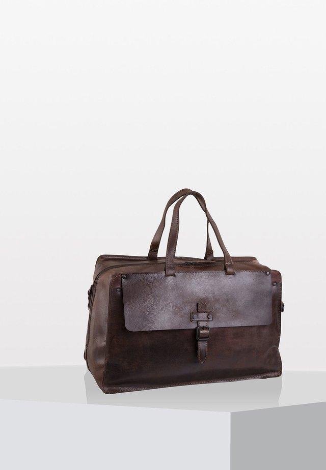 ABERDEEN - Weekend bag - brown