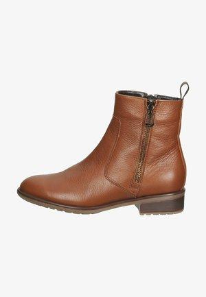 Platform ankle boots - cognac 83