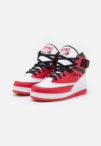 Ewing - Baskets montantes - white/chinese red/black - 3