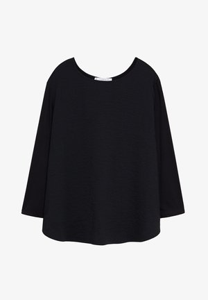 NACHO - Long sleeved top - black