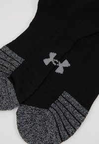 Under Armour - HEATGEAR LOCUT 3 PACK - Sports socks - black/steel - 2