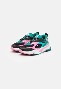 Puma - FAST - Trainers - black/sachet pink/parasailing - 1