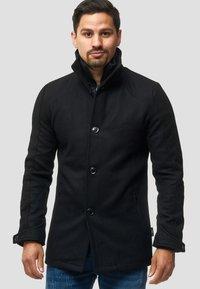 INDICODE JEANS - MÄNTEL BRITTANY - Light jacket - black - 0