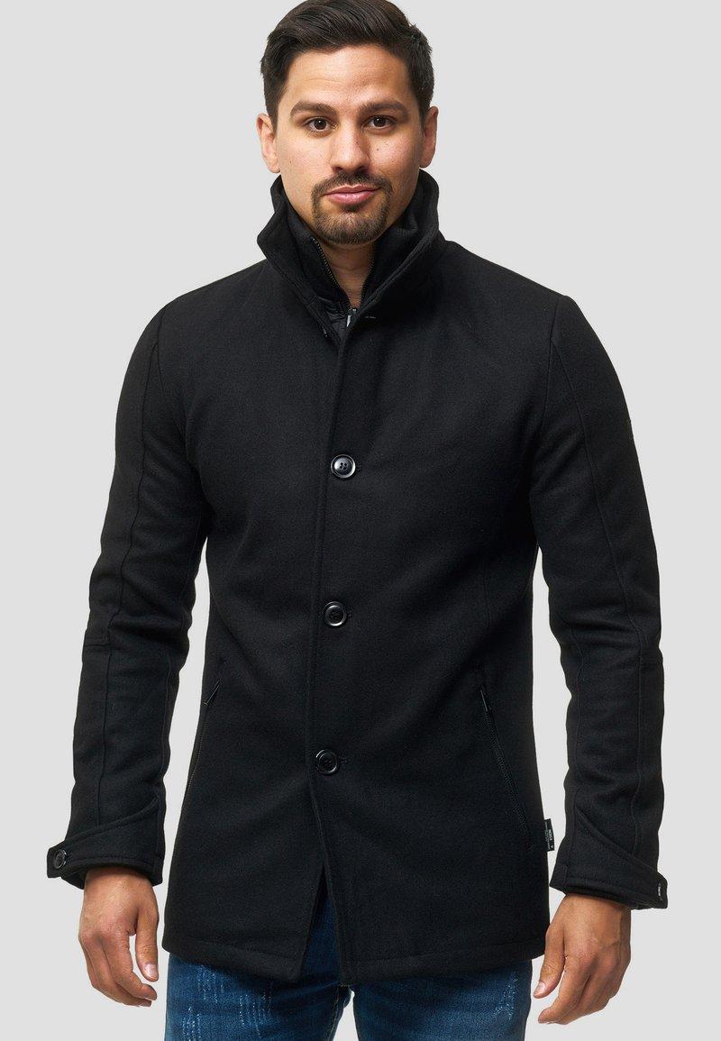 INDICODE JEANS - MÄNTEL BRITTANY - Light jacket - black
