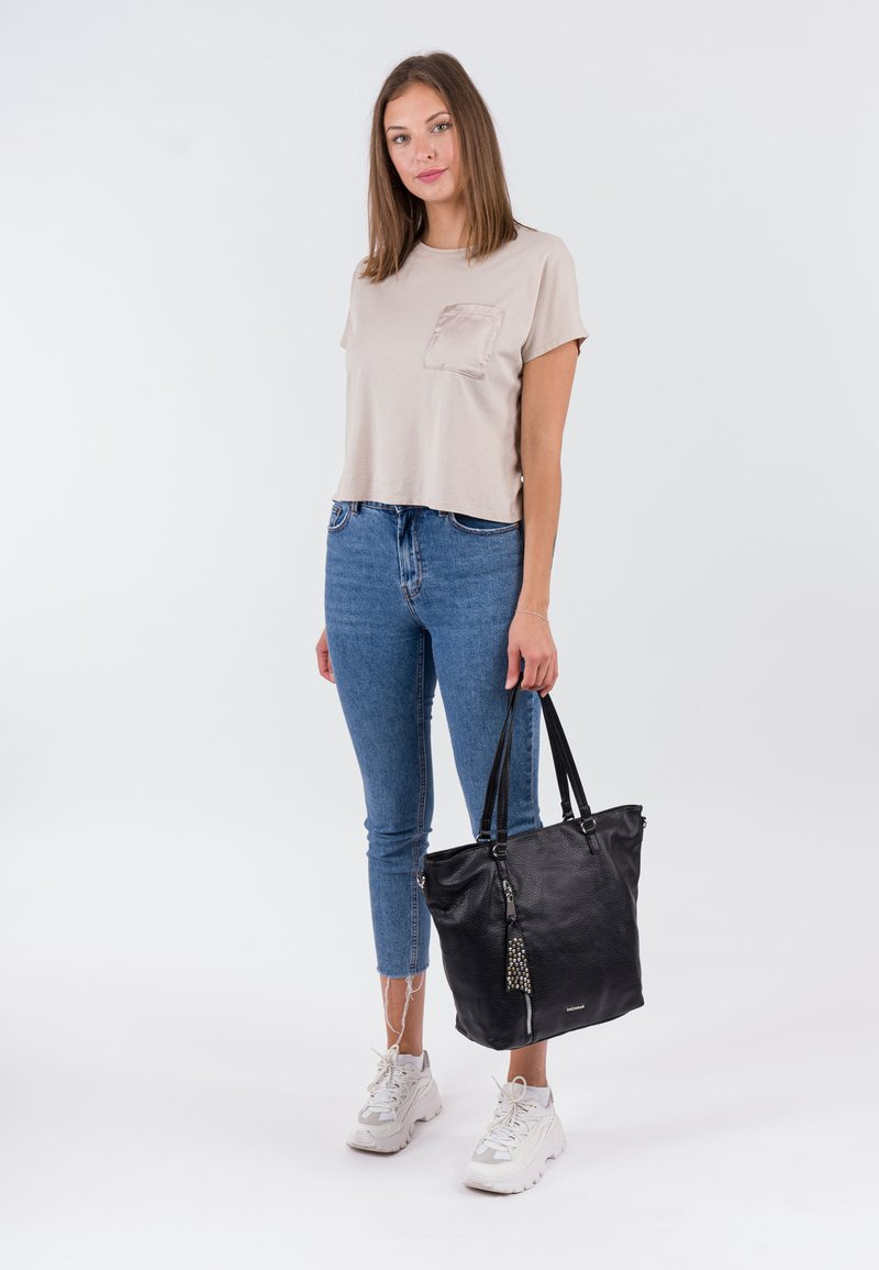 Emily & Noah - Tote bag - black
