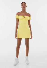 Bershka - Day dress - yellow - 1