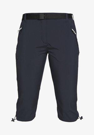 CAPRI LIGHT - 3/4 sports trousers - navy