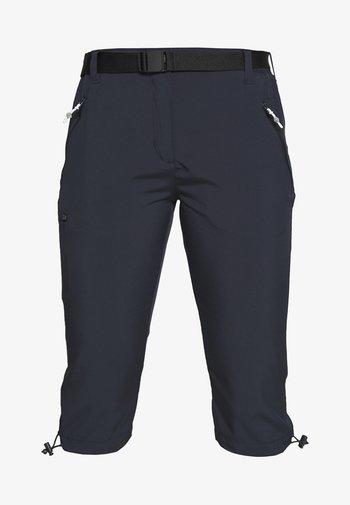 CAPRI LIGHT - Pantaloncini 3/4 - navy