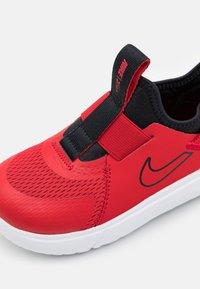 Nike Performance - FLEX PLUS UNISEX - Neutral running shoes - university red/black/white - 5