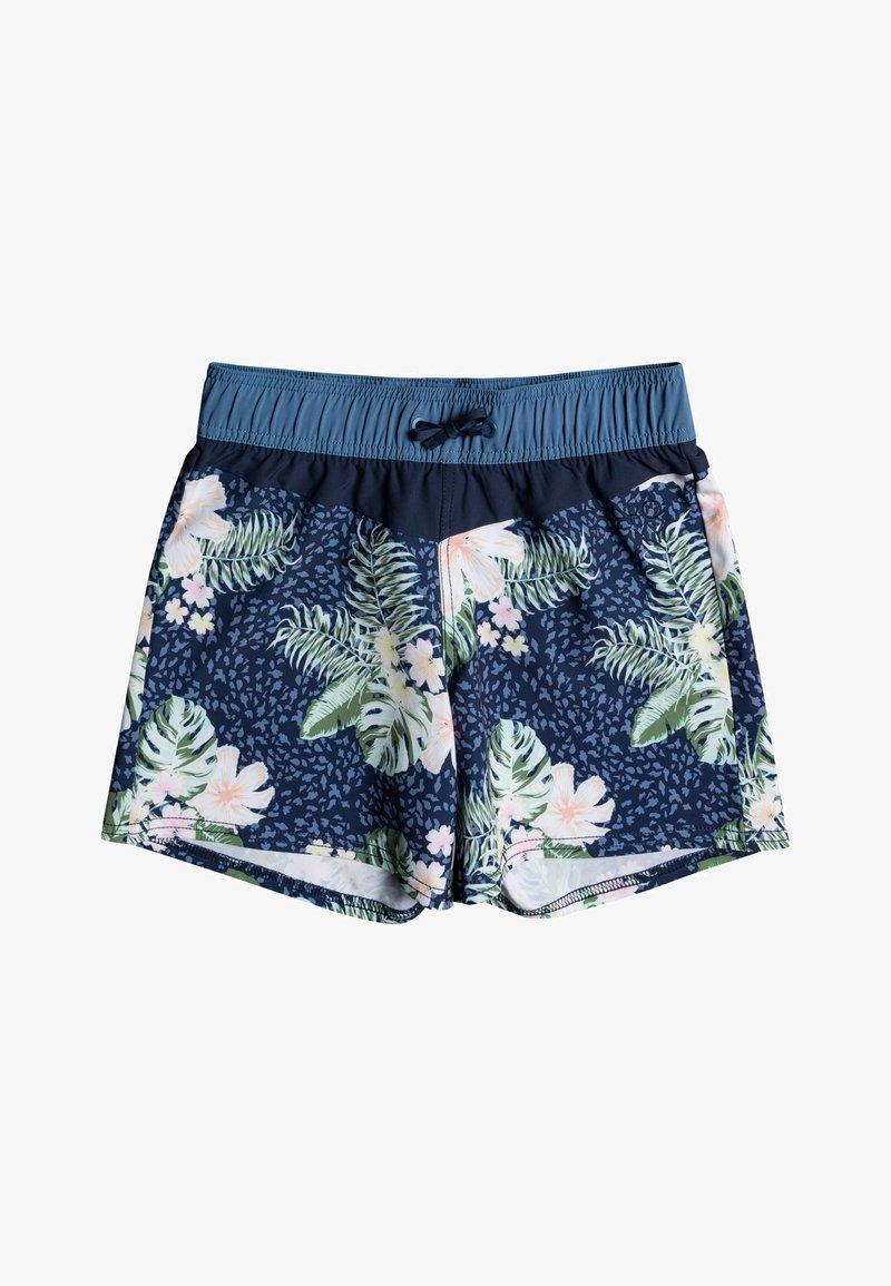 Roxy - LOVELY SUN 5 - Swimming shorts - mood indigo animalia s