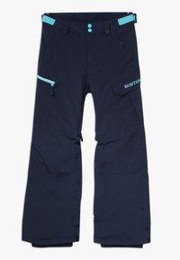 Burton - EXILE CARGO - Snow pants - dress blue - 0