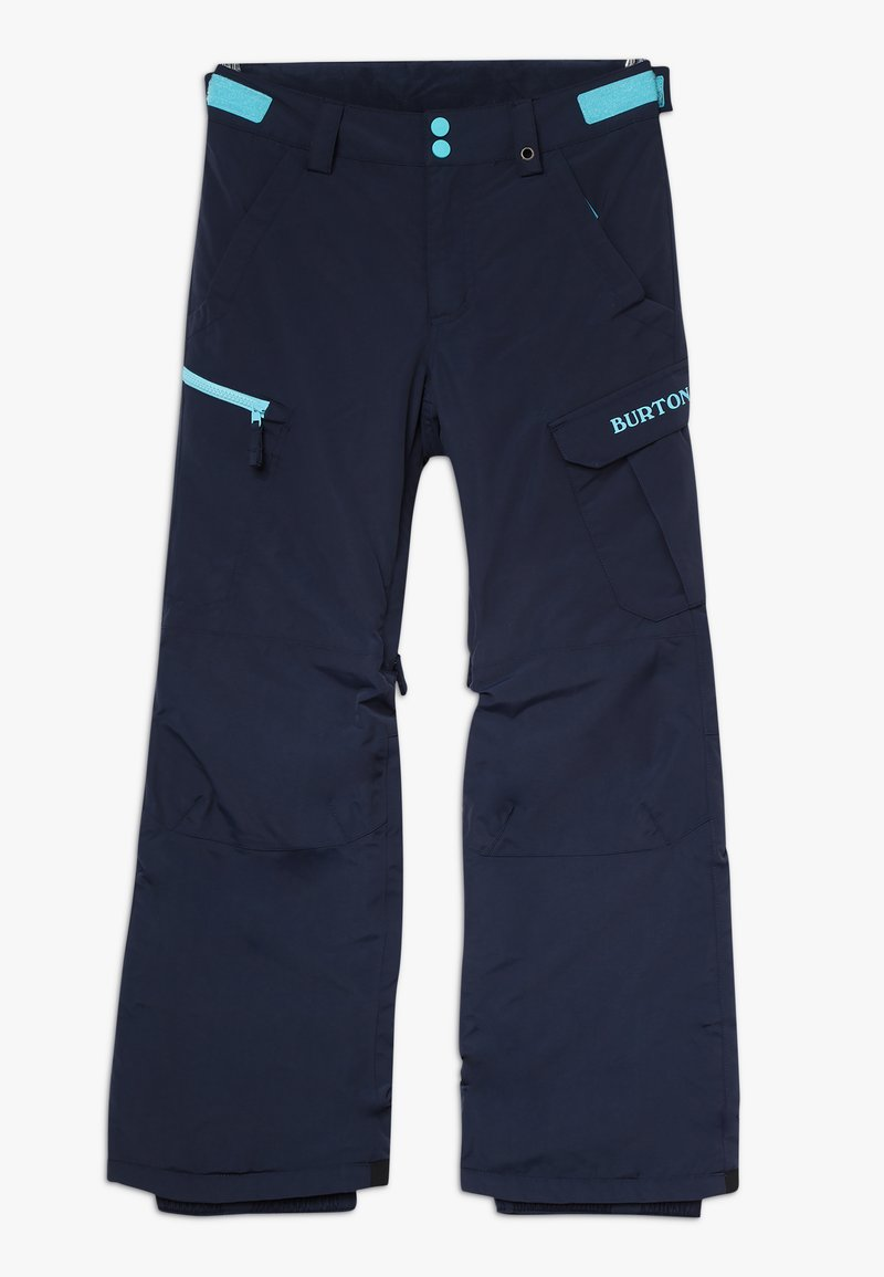 Burton - EXILE CARGO - Snow pants - dress blue