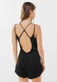 Bershka - Tuta jumpsuit - black - 2