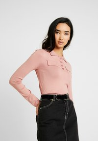 Lost Ink - POLO - Pullover - pink - 0