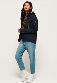 Superdry - VELOCITY - Outdoor jacket - navy blue - 1