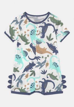 SUR DINO - Jumpsuit - white/multi-coloured