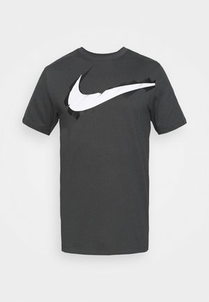 TEE LOGO - T-shirts med print - anthracite