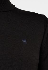 G-Star - PREMIUM CORE MOCK TURTLE LONG SLEEVE - Jumper - dk black - 3
