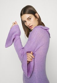 Who What Wear - RUFFLE - Jumper - lavender - 3