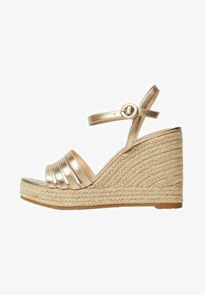 GIRL - High heeled sandals - oro