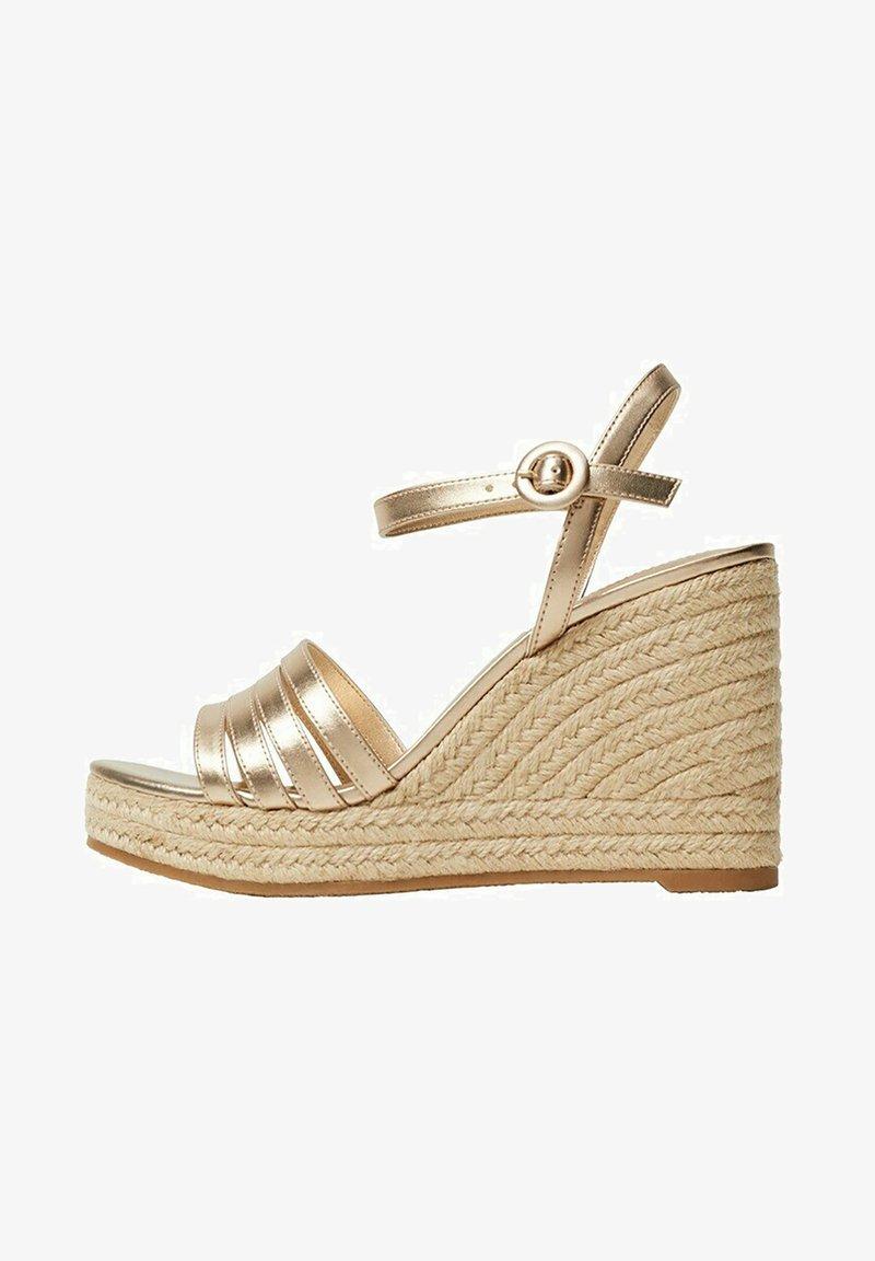 Mango - GIRL - High heeled sandals - oro