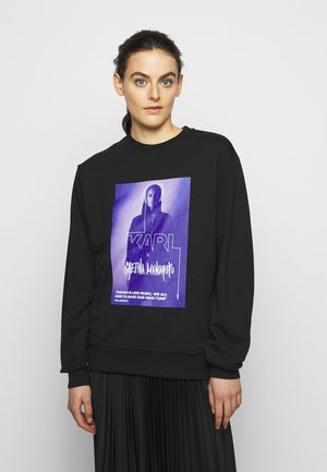 CHELINA MANUHUTU - Sweatshirt - black