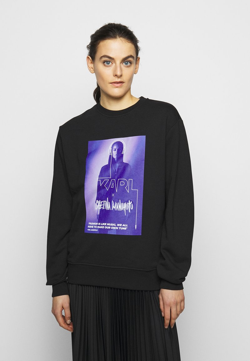 KARL LAGERFELD - CHELINA MANUHUTU - Sweatshirt - black