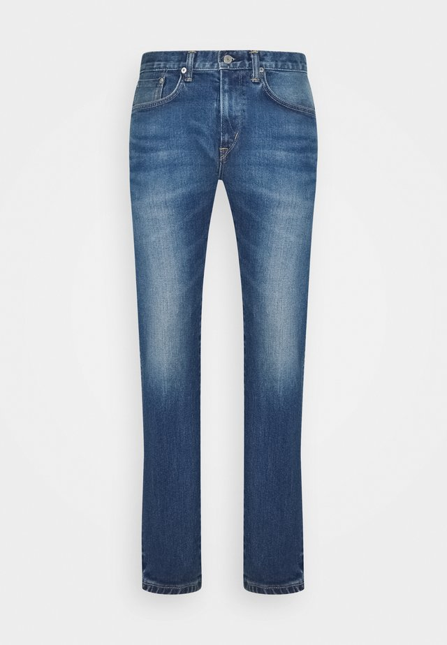 SLIM TAPERED - Slim fit jeans - blue denim