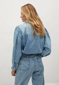 Mango - LOLA - Button-down blouse - middenblauw - 1