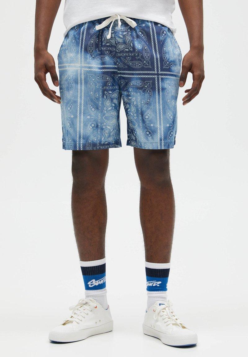 PULL&BEAR - Shorts - blue