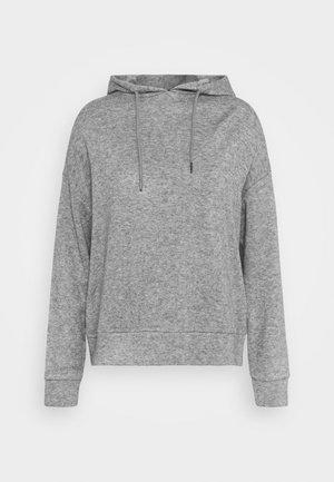 SOFT HOODIE - Jumper - grey melange