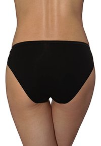 Schiesser - ESSENTIALS 3Pack - Slip - black - 1